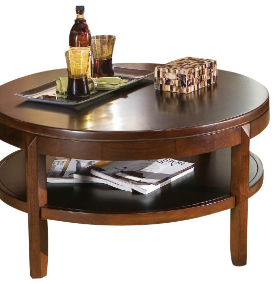 American Drew Tribecca 3 Piece Coffee Table Set with Entertainment Unit traditional coffee tables