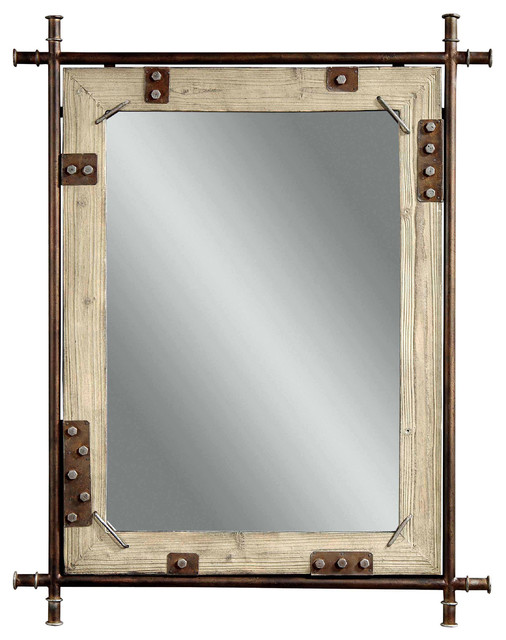 Bronze Decorative Wall Mirror - Eclectic - Mirrors - by ...