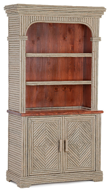 rustic cabinets kitchen rustic hutch 2041 by la lune collection rustic china 2041