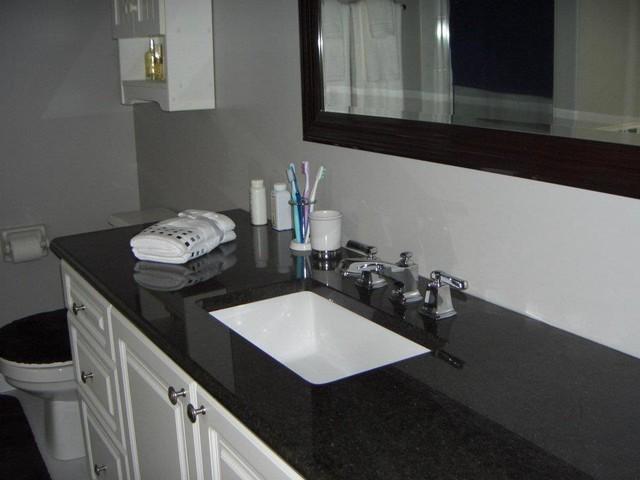 Black Granite Bathroom Countertops | Black Ideas Design on Bathroom Ideas With Black Granite Countertops  id=25696