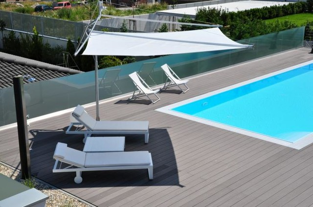 Retractable Sail Awnings by Corradi - Outdoor Umbrellas ... on Corradi Living Space id=74641