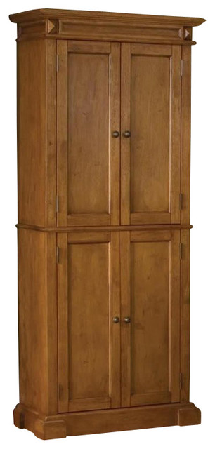 Home Styles Kitchen Pantry in Distressed Oak Finish ...
