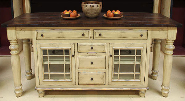 solid wood kitchen island cart solid wood kitchen island with glass mullion lower cabinets 8170