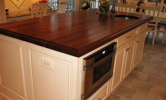 wood island tops kitchens walnut wood kitchen island countertop with sink by 1583