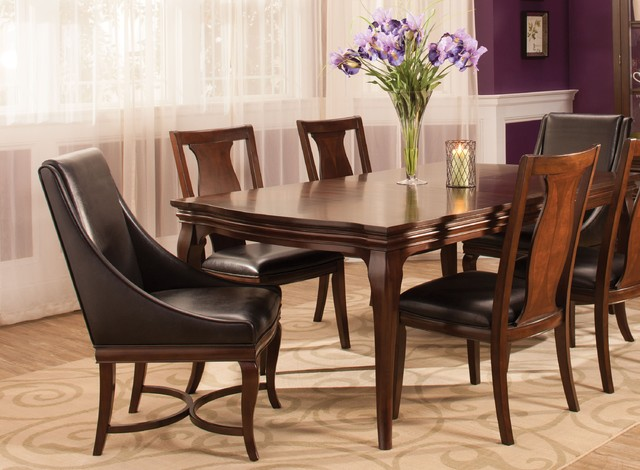 raymour and flanigan dining room sets belanie 7 pc dining set transitional dining room 6173