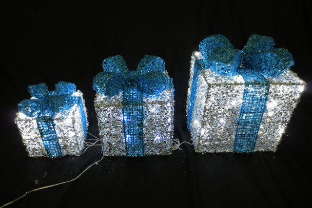 blue and white outdoor christmas decorations 7 best images about