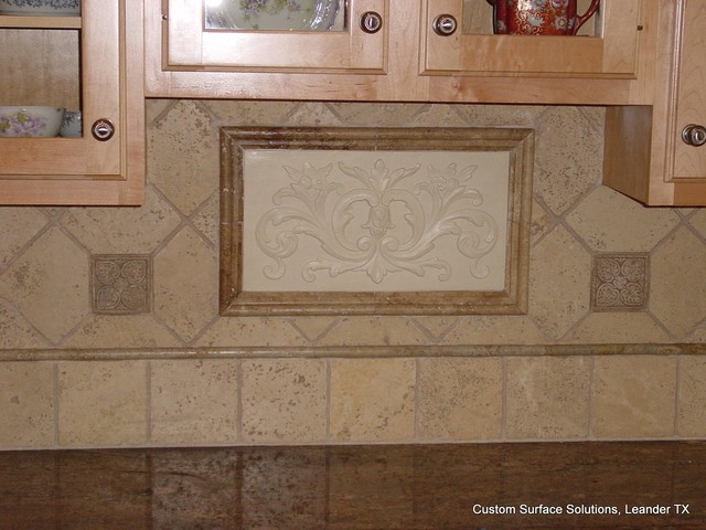 kitchen backsplash travertine tile kitchen granite counter and travertine tile backsplash 19175