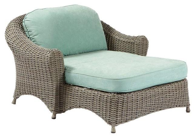 Martha Stewart Living Chaise Lounges Lake Adela Weathered ... on Martha Stewart Living Chaise Lounge id=33253