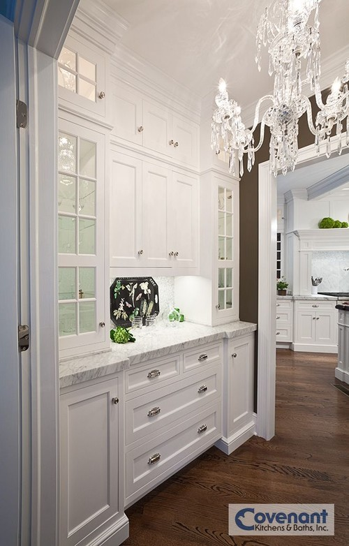 10 butler 39 s pantry ideas town country living for Kitchen designs with butler pantry