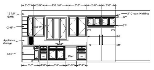 kitchen cabinets details need cabinet detail dwg 2966