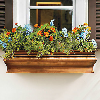 Picture 65 of Copper Window Boxes Planters