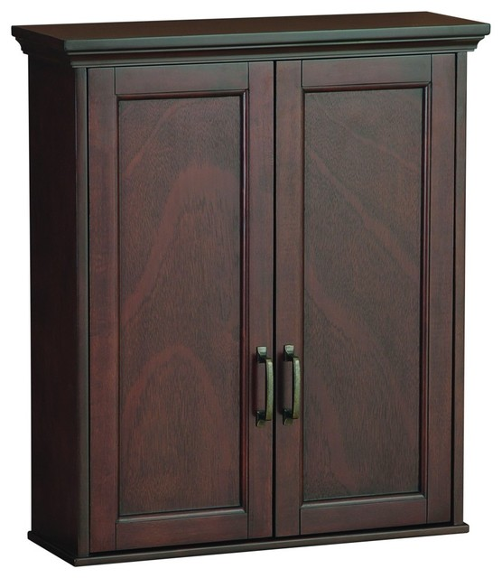 mahogany bathroom wall cabinet foremost asgw2327 ashburn wall cabinet in mahogany 19377