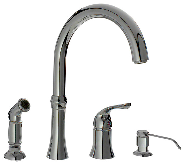 4 hole kitchen sink faucet four kitchen faucet 22858