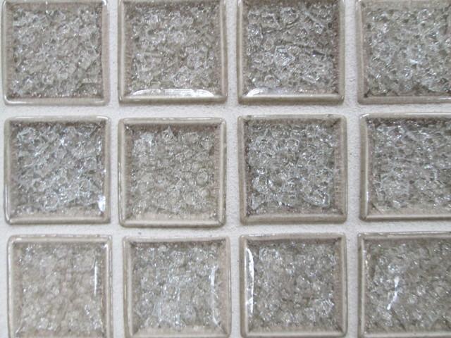 Top Crushed Glass Tile Backsplash - Glass Designs MT96
