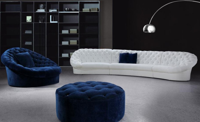 designer sofas for living room. 898b3 Eye Catching Contemporary White Upholstery Sofa In Living Round Chair Room Furniture  Centerfieldbar com