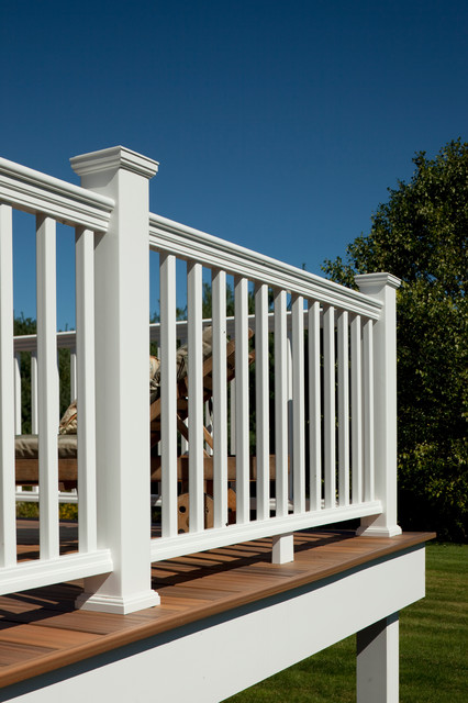 Bufftech Evernew Panorama Composite Vinyl Railing ...