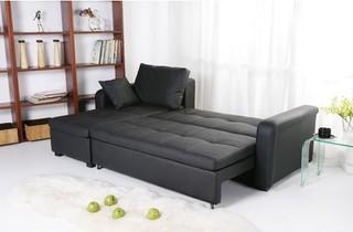 Charlotte Sleeper Sectional Modern Sectional Sofas