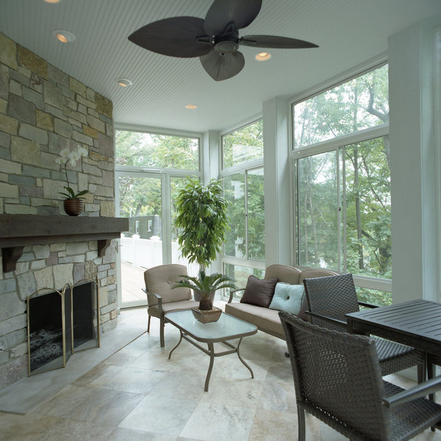 Indoor Outdoor Living Space, Lake Geneva, Wi - Traditional ... on Houzz Outdoor Living Spaces id=93605
