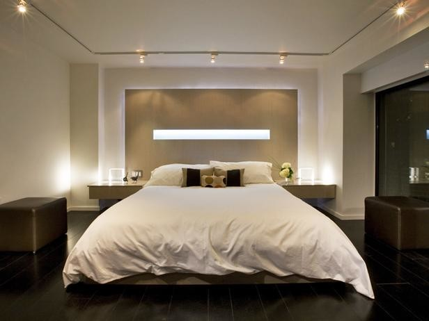 custom headboard w led light in cove cut out and perimeter jpg 10485 | home design