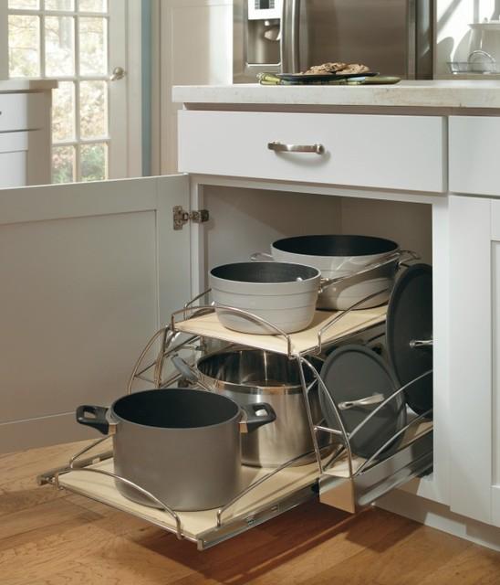 Aristokraft Base Pots and Pans Pullout - Kitchen Drawer ...