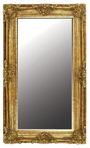 Extra Large Ornate Gold Mirror victorian-wall-mirrors