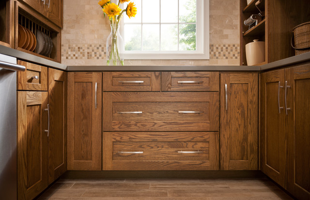 mission oak kitchen cabinets mission oak eclectic other metro by shenandoah 23419