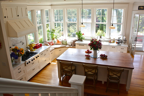 Traditional Kitchen By Santa Cruz Media Bloggers Shannon Malone Window Seat