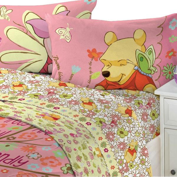 Clic Pooh Twin Bedding Set Designs