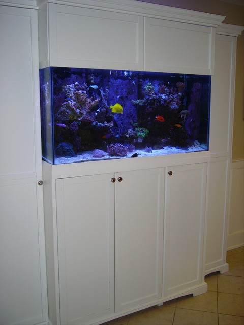 kitchen cabinets with bulkhead aquarium cabinet for 90 gallon reef tank traditional 6465