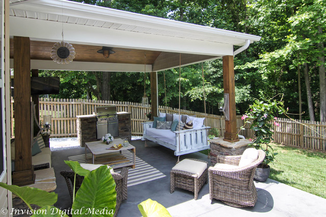 Luxury Outdoor Living - Rustic - charlotte - by Invision ... on Exclusive Outdoor Living id=65269