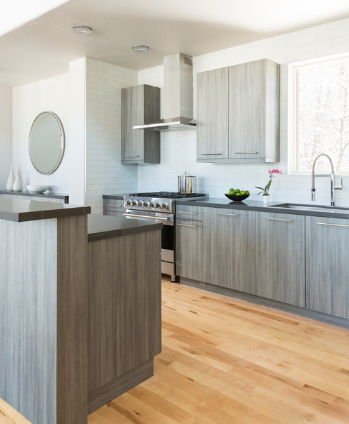 Kitchen Was Custom Built By Utah Based Company Cottonwood Fine Furniture And Can We Just Say Wowza Between The High Gloss White Cabinetry