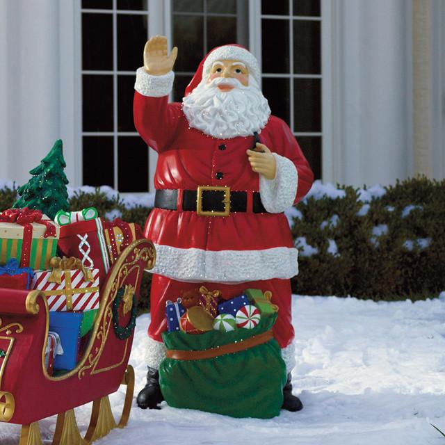 Christmas Santa Decoration Psoriasisguru