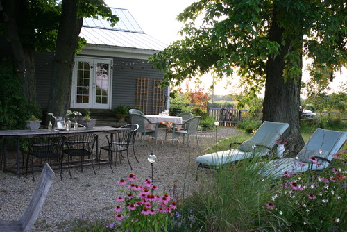 New Pea Gravel Patio Project! & Backyard Inspiration | The ... on Pea Gravel Yard Ideas id=34044