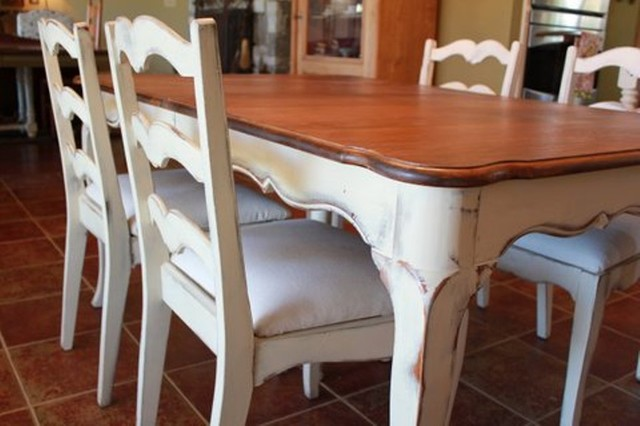 Vintage French Country Dining - Dining Tables - austin ...