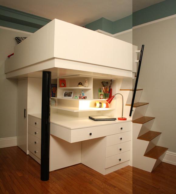Child's Loft-Bedroom - Modern - Kids - new york - by ...