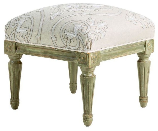Pre-owned Small Antique Louis XVI Style Painted Footstool ...