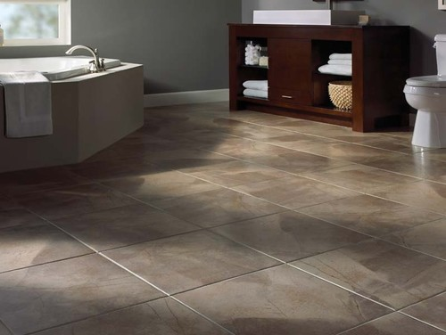 How to Install a Ceramic Tile Floor | Home Art Tile Kitchen and Bath