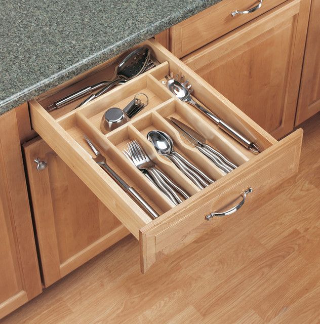 kitchen cabinet drawer guides wood classics cutlery tray insert kitchen drawer 18691