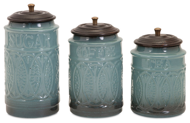 contemporary kitchen canisters taylor ceramic canisters set of 3 contemporary kitchen canisters and jars by imax 8855