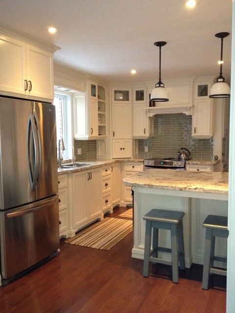 picture of backsplash kitchen arctic granite on cabinets contemporary 4186