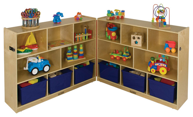 toy storage cabinets ecr4kids home room storage 36 quot fold and lock 27274