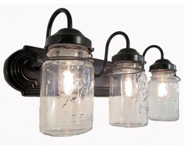 mason jar bathroom light fixture bathroom jar vanity wall sconce light 23747