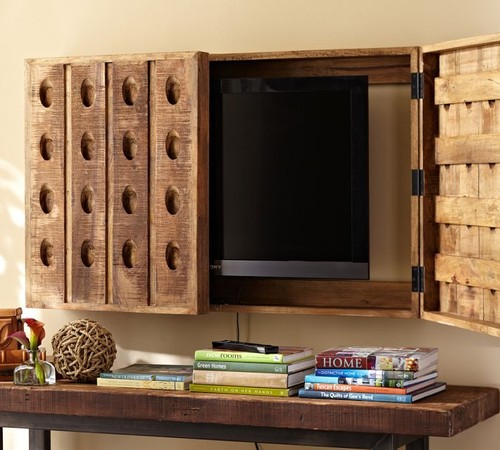 Charming Image Result For Hidden Tv Cabinets Flat Screens