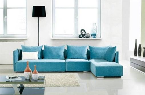 Tiffany Blue Sectional Sofa Catosfera Net