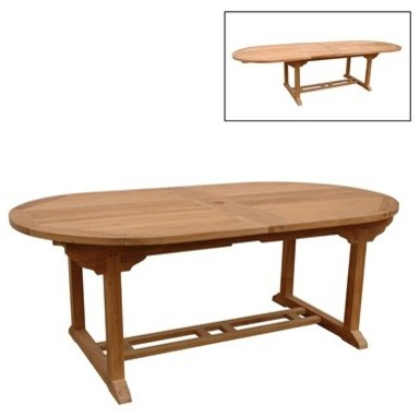 hair styles oval bahama 95 rectangular table w leaf extensions table 6175