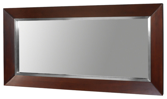 mahogany bathroom mirror decolav mahogany mirror contemporary bathroom mirrors 13569