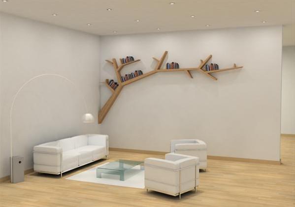 Book Shelf Model 1 by Olivier Dollé modern wall shelves