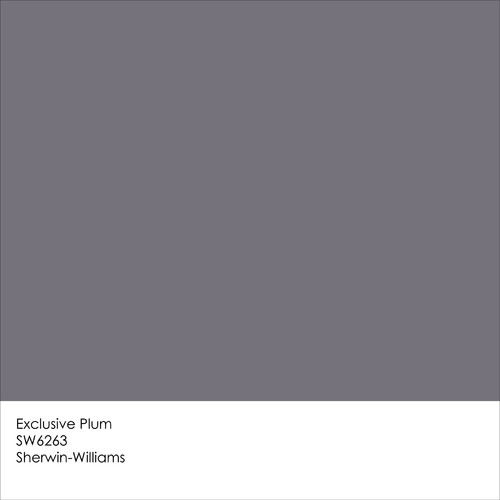 Sherwin williams 2014 color of the year exclusive plum for Sherwin williams lavender gray