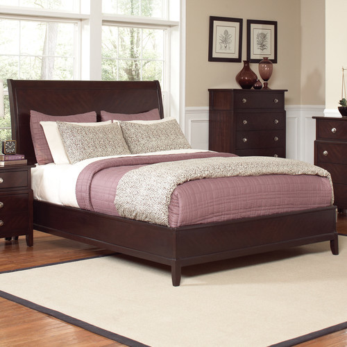 modern sleigh bedroom sets allston sleigh bed modern bedroom furniture sets by 16432