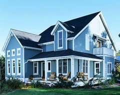 Blue House Black Shingles New Images